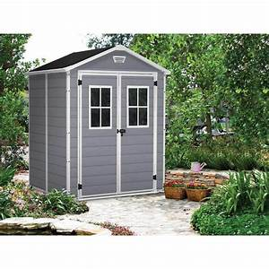 Abri De Jardin En Pvc : abri de jardin pvc premium 65 gris 2 8 m premium65f ~ Edinachiropracticcenter.com Idées de Décoration