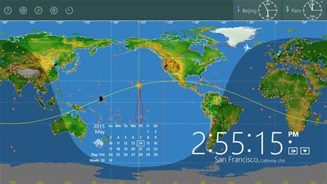 world astro clock windows