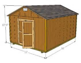 10 x 16 gable shed plans how to build diy blueprints pdf 12x16 12x24 8x10 8x8 10x20