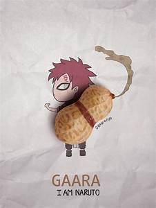 Creative, Artwork, Create, Naruto, Illustrations, Using, Everyday, Objects