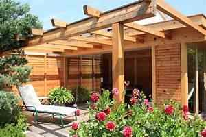 Garten überdachung Freistehend Holz : die gartenlounge als freistehender wintergarten direkt im ~ Whattoseeinmadrid.com Haus und Dekorationen