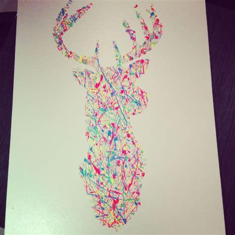 Deer Head DIY Canvas Painting