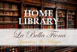 Classic, Home, Library, Design, Ideas