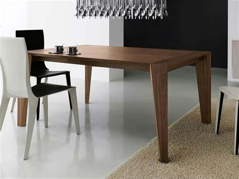 table carree extensible bois table carree design extensible
