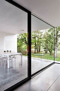 lede belgium house v c graux baeyens architects veranda With porte fenetre coulissante