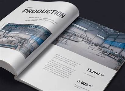 Brochure Example Examples Realcraft Venngage Behance
