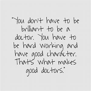 25+ best Becomi... Dedicated Doctor Quotes