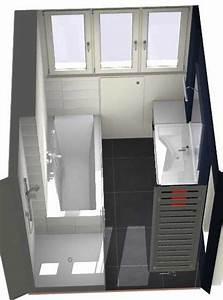 Salle De Bain Etroite : salle de bains lille les projets ~ Melissatoandfro.com Idées de Décoration