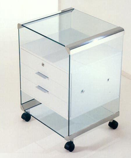 caisson de bureau caisson de bureau en verre