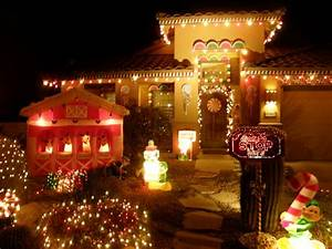 Christmas Lighting Displays With a Theme DIY