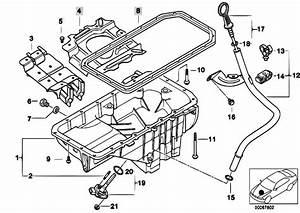 Original Parts For E39 520d M47 Sedan    Engine   Oil Pan