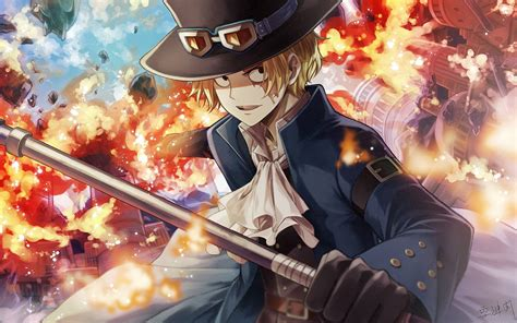 Sabo One Piece Wallpaper