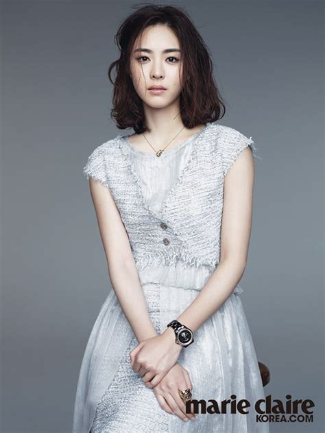 lovely classy lee yeon hee  marie claire koreas june