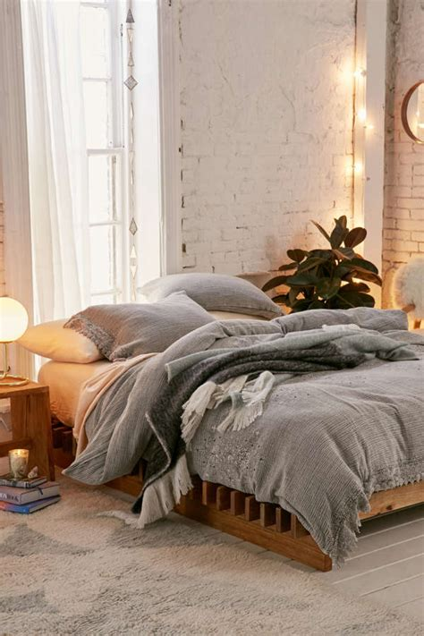 cassia embroidered duvet cover urban outfitters