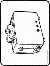 Toaster Colouring Kiddicolour Drawing sketch template