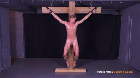 Hot Russian Twink Crucifixion Gay Bondage Bdsm Torture