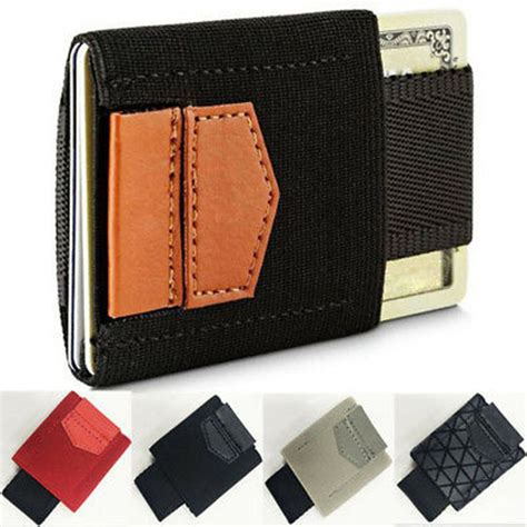 Wiki researchers have been writing reviews of the latest money clip wallets we also removed the kinzd front pocket, noting multiple reports that its strong magnet frequently demagnetizes the strip on credit cards and transit. Men's Minimalist Wallet Money Clip Coin Front Pocket Slim Credit Card Holder ID | eBay