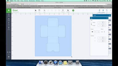 DIY Box Template For Cricut Design Space - YouTube