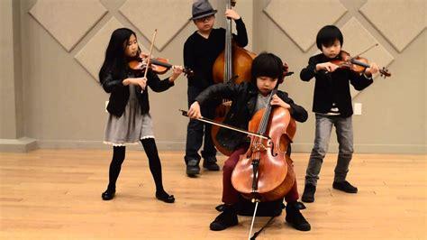 youngest string quartet everfirework youtube