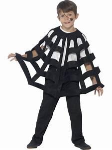 Déguisement Enfant Halloween : cape enfant d 39 araign e noir d guisement halloween enfants le ~ Melissatoandfro.com Idées de Décoration