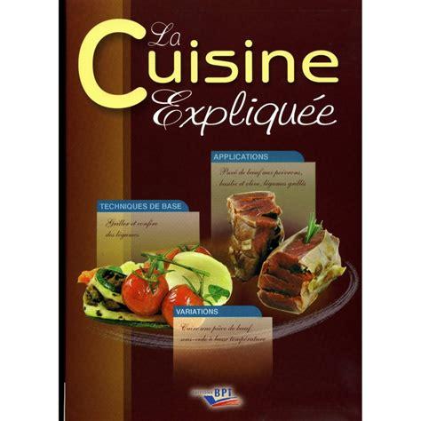 livre photo cuisine livres de cuisine professionnelle cap cuisine et bts