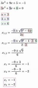 Nullstellen Berechnen Funktion 3 Grades : nullstellen quadratische funktion gleichung ~ Themetempest.com Abrechnung