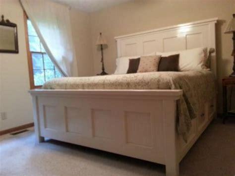 farmhouse bed  decorathing
