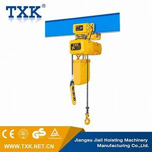 China Electric Chain Hoist With Ce Approval