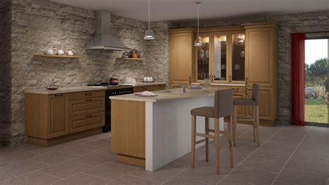 cuisine en bois modele de cuisine en bois clair mzaol com