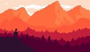 Pixel Art Landscape Wallpaper FireWatch by Andlai9087 on ...