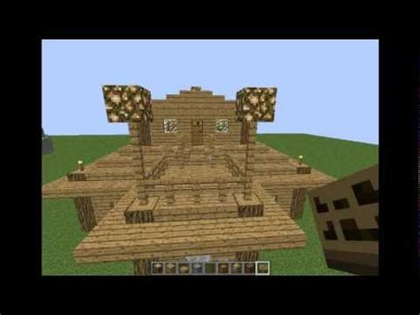 tutorial  medium sized house  minecraft youtube