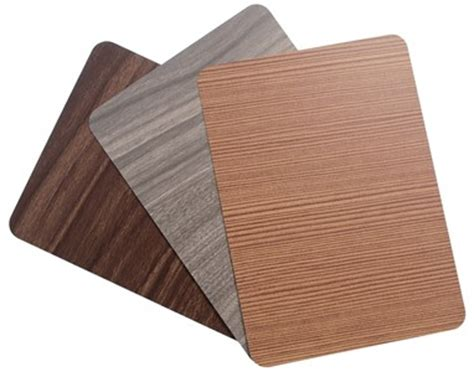 wood grain acm finishes   introduced   composites