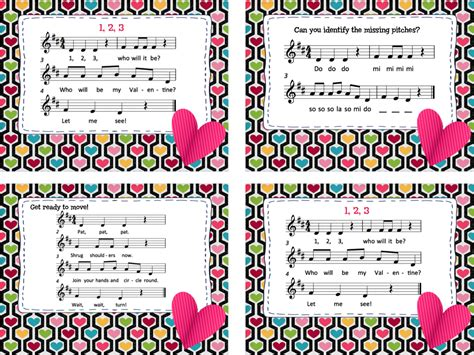 Know the facts about making music fun for children and teenagers. Make Music Rock!: Valentine Fun - song/movement activity with changing partners & mi-re-do ...