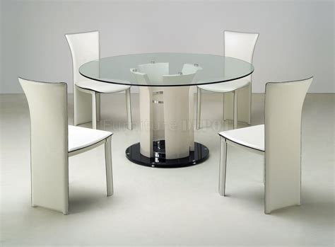 Round Glass Top Dining Room Table