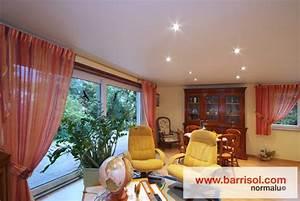 Spot Plafond Salon : eclairage par spots int gr s dans le plafond tendu ~ Edinachiropracticcenter.com Idées de Décoration