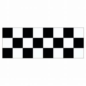 Damier Noir Et Blanc : stickers et autocollant bande damier racer pour voiture ~ Dallasstarsshop.com Idées de Décoration