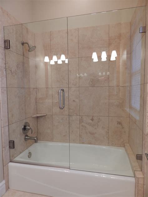 Tub Shower Doors by European Frameless Shower Doors Vision Mirror And Shower