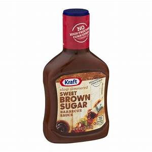Kraft Sweet Brown Sugar Barbecue Sauce