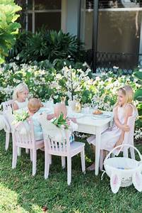 Easter Kids Table with Pottery Barn Kids | Palm Beach Lately
