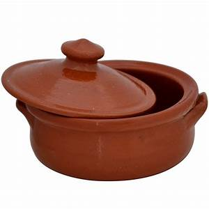 Small, Terracotta, Cooking, Pots