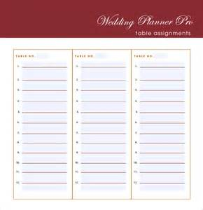 Guest List Excel Template Wedding Guest List Template 7 Free Sles Exles Format