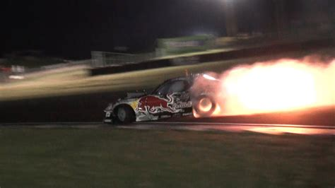 mad mike redbull rx spitting flames team nz promo