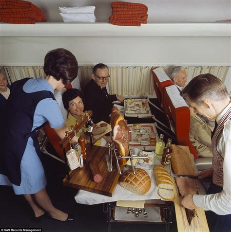 Scandinavian Airlines Release Photos Of Fine Dining During