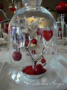 Pomme Rouge Deco : decoration de mariage theme amour id es et d 39 inspiration sur le mariage ~ Teatrodelosmanantiales.com Idées de Décoration