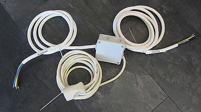 splitter für herd und kochfeld herdanschlusskabel power splitter strom herd k 252 chenverteiler 2m x 2m x 5m eur 52 95
