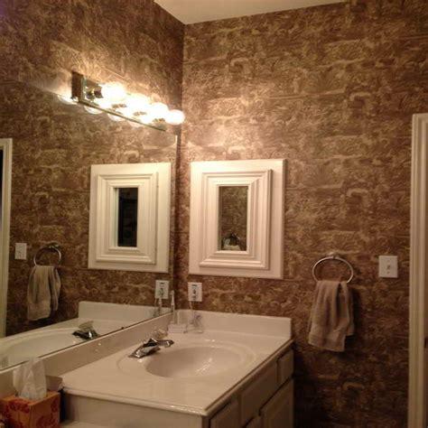 Vinyl Wallpaper For Bathroom Walls Bathroom Remodeling Vinyl Wallpaper For Bathroom Ideas