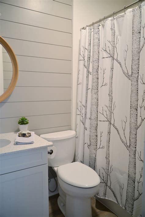 painted shiplap   bathroom   bathroom