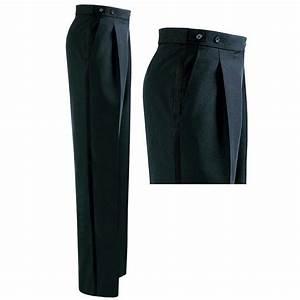 Pantalon A Pince Homme : pantalon de smoking homme noir pince polyester et laine ~ Melissatoandfro.com Idées de Décoration