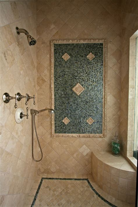 tile bathroom shower mediterranean bathroom san