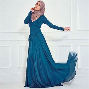robes longues avec manches longues hijab With chambre bébé design avec belle robe soirée fleurie